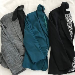 Set of 3 blazers for 1 low price
